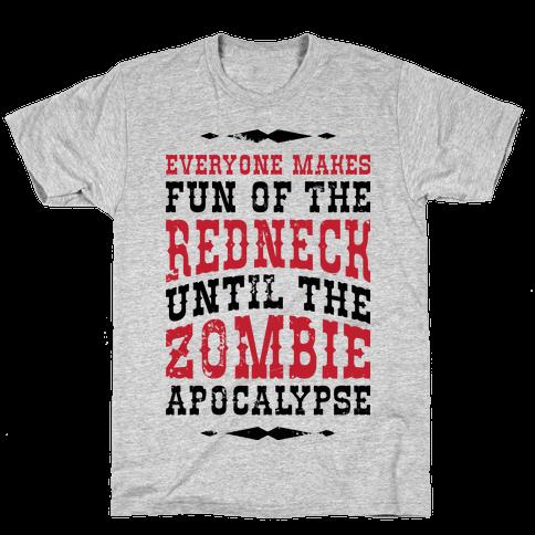 Redneck Zombie Killer Mens/Unisex T-Shirt