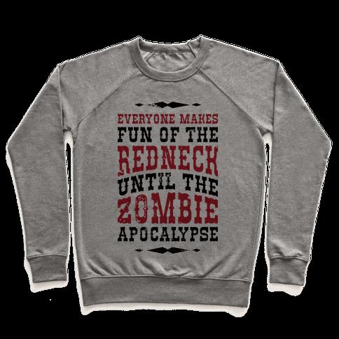 Redneck Zombie Killer Pullover