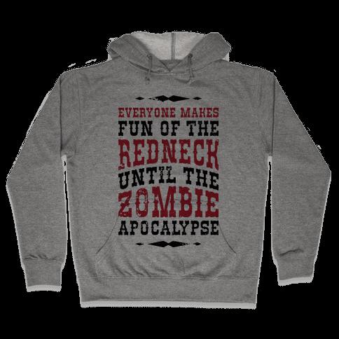 Redneck Zombie Killer Hooded Sweatshirt