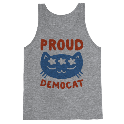 Proud Democat Tank Top