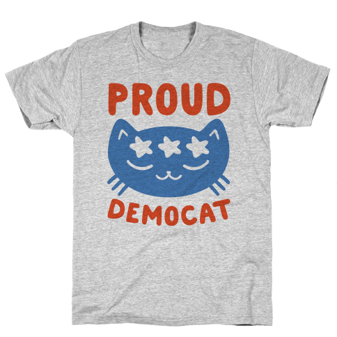 Proud Democat Mens T-Shirt