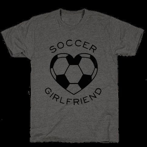 Soccer Girlfriend (Baseball Tee)
