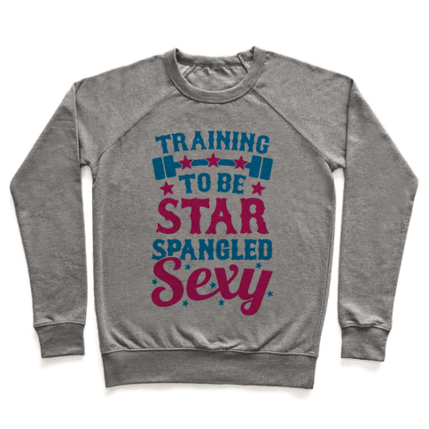 Training To Be Star Spangled Sexy Pullover