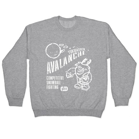 Competitive Snowball Fighting Pullover