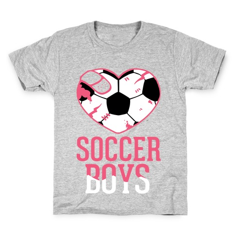 Soccer Boys Kids T-Shirt