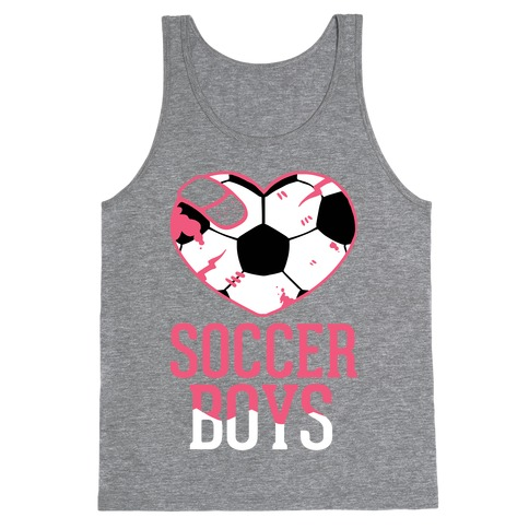 Soccer Boys Tank Top