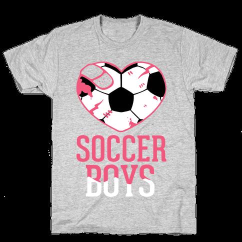 Soccer Boys Mens T-Shirt