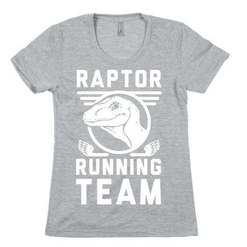 Raptor Running Team Womens T-Shirt