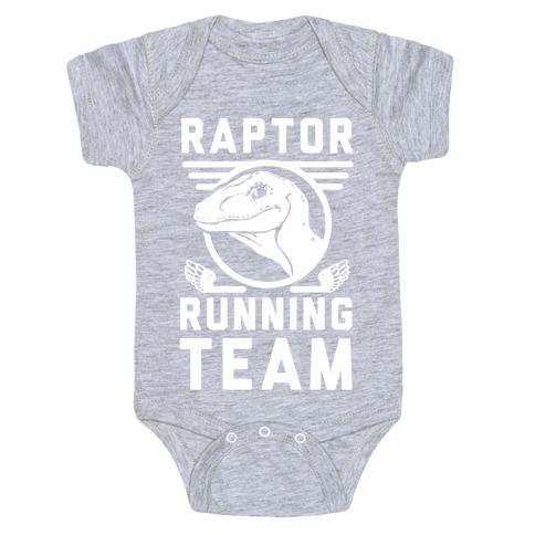 Raptor Running Team Baby Onesy