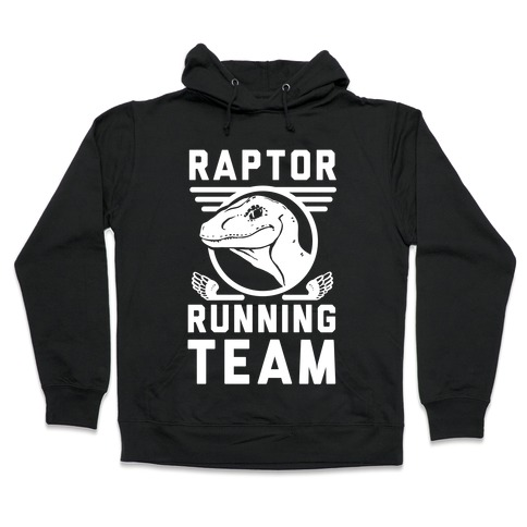 Raptor Running Team Hooded Sweatshirt