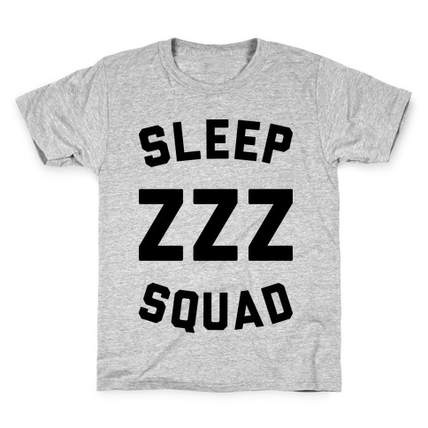 Sleep ZZZ Squad Kids T-Shirt