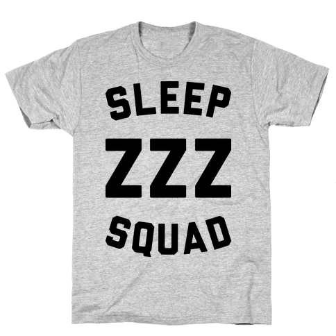 Sleep ZZZ Squad Mens/Unisex T-Shirt