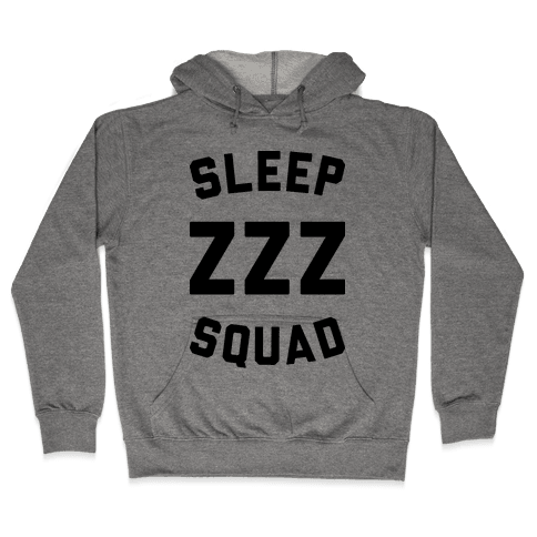 Sleep ZZZ Squad Hooded Sweatshirt
