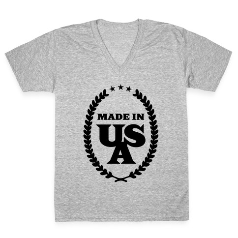 American Made V-Neck Tee Shirt
