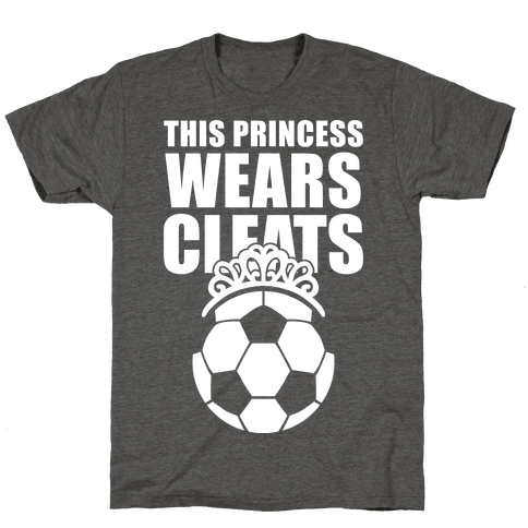 This Princess Wears Cleats (Soccer)