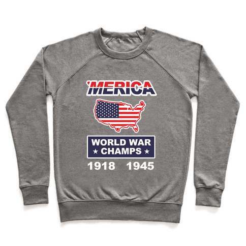 Merica World War Champs Pullover