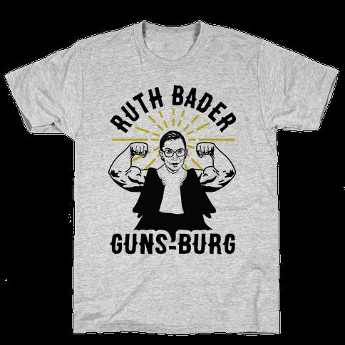 Ruth Bader Guns-Burg Mens/Unisex T-Shirt