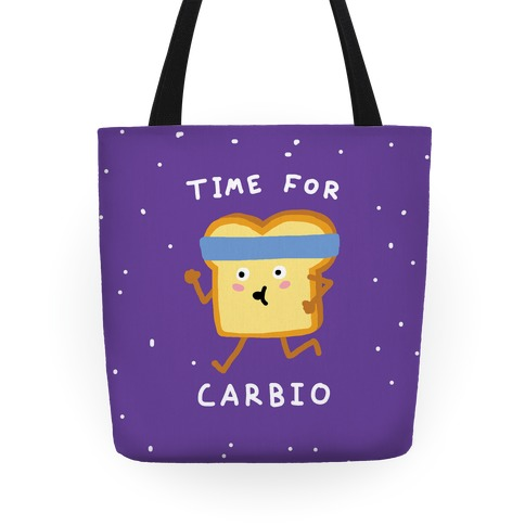 Time For Carbio Tote