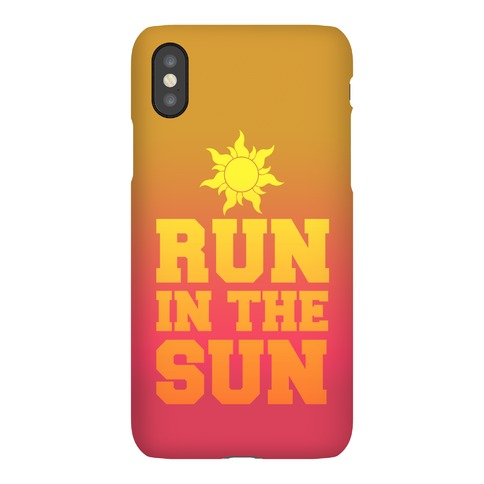 Run In The Sun Phone Case