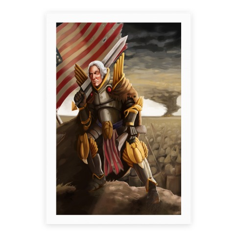 George Washington Paladin Poster