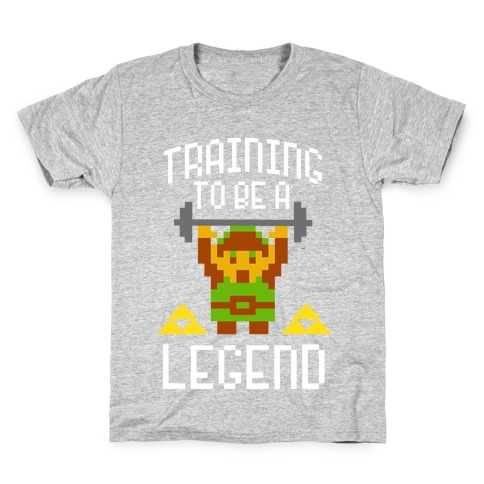 Training To Be A Legend Kids T-Shirt