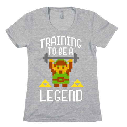 Training To Be A Legend Womens T-Shirt