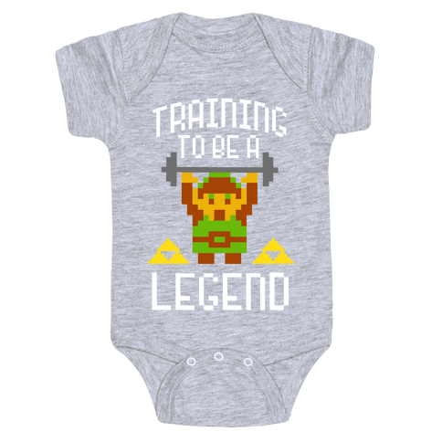 Training To Be A Legend Baby Onesy
