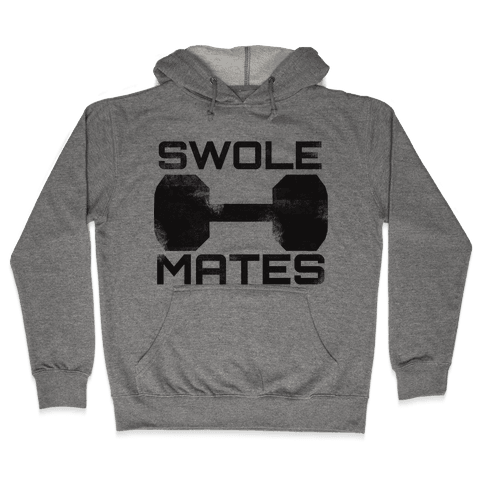 Swole Mates Hooded Sweatshirt