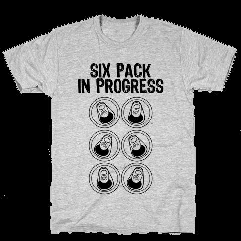 Six Pack In Progress Mens T-Shirt