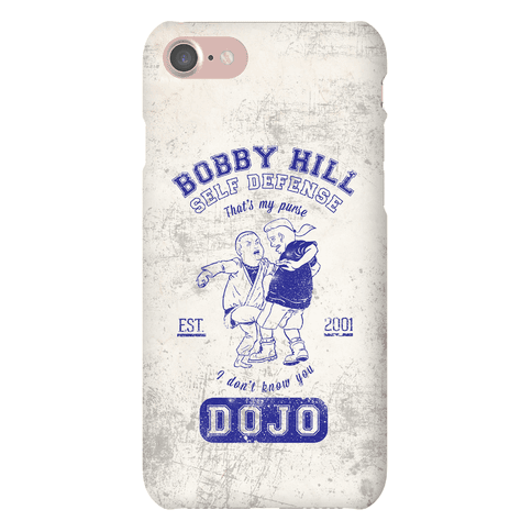 Bobby Hill Self Defense Dojo Phone Case