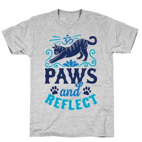 Paws And Reflect (Cat) T-Shirt