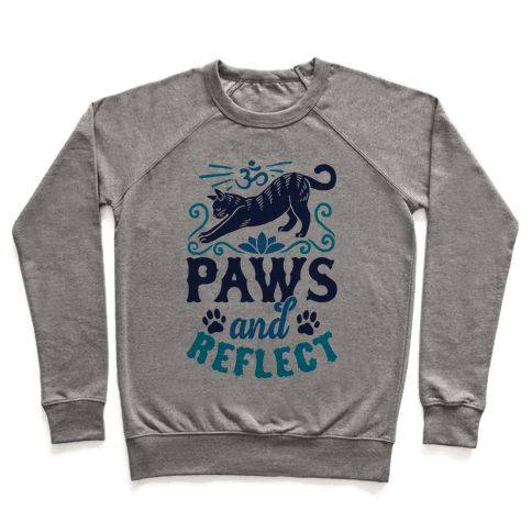 Paws And Reflect (Cat) Pullover