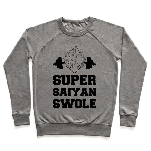 Super Saiyan Swole Pullover