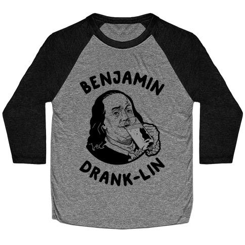 Benjamin Drank-lin Baseball Tee