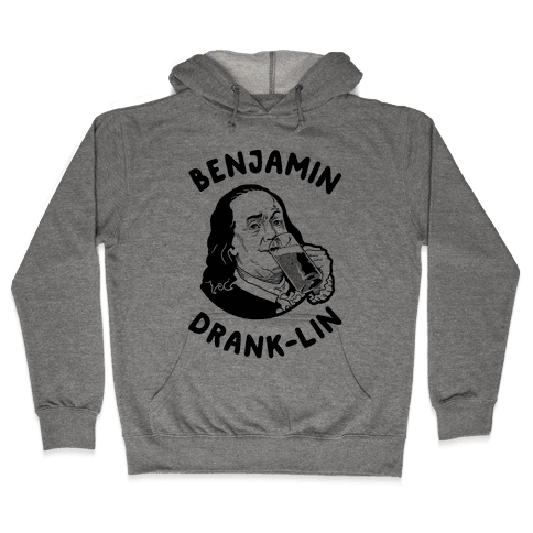 Benjamin Drank-lin Hooded Sweatshirt