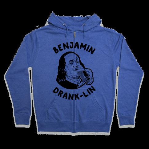 Benjamin Drank-lin Zip Hoodie