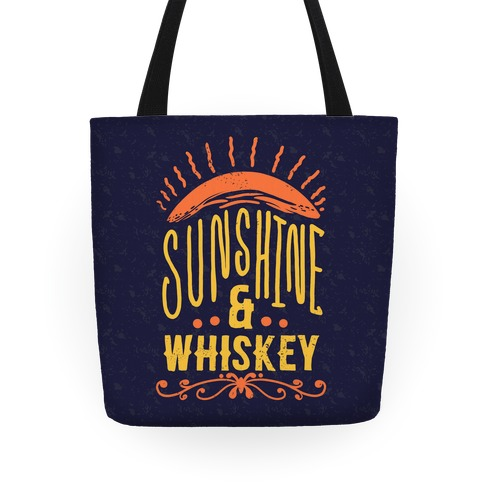 Sunshine and Whiskey Tote