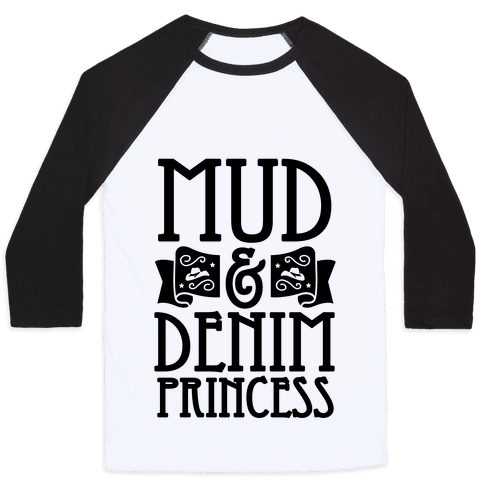 Mud & Denim Princess Baseball Tee