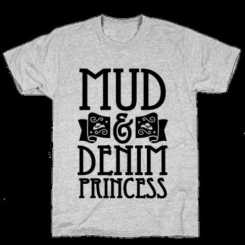 Mud & Denim Princess Mens T-Shirt