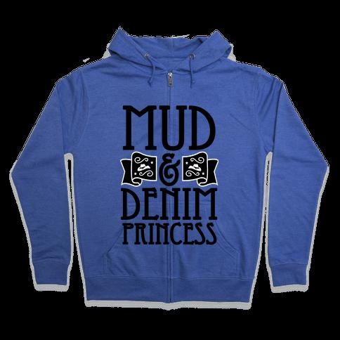 Mud & Denim Princess Zip Hoodie