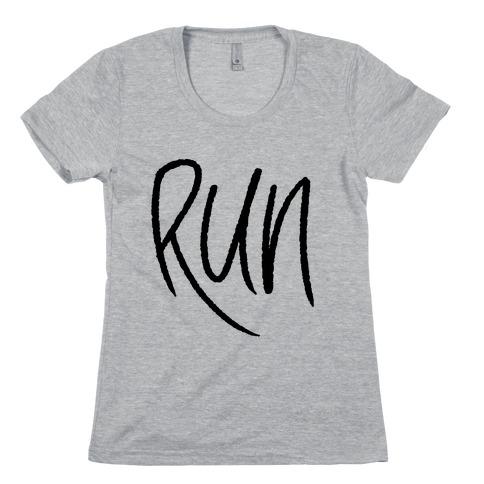 Run Womens T-Shirt