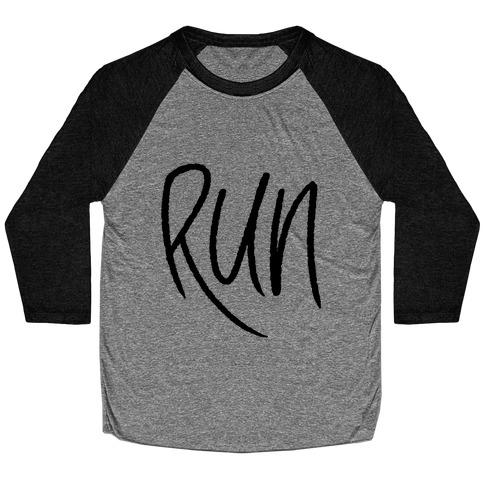 Run Baseball Tee