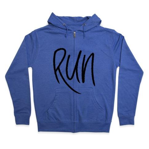Run Zip Hoodie