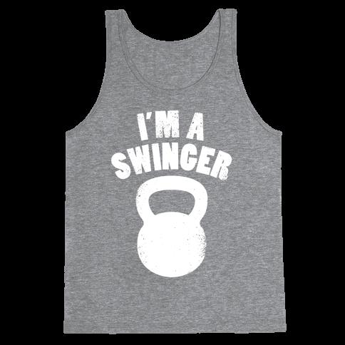 I'm A Swinger Tank Top