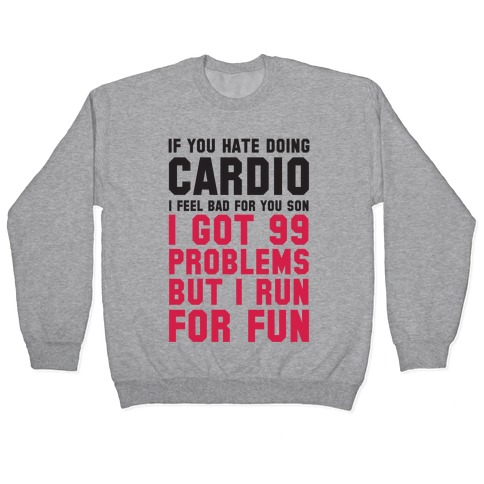 If You Hate Doing Cardio Pullover