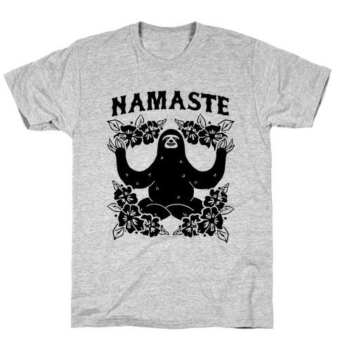 Namaste Sloth T-Shirt