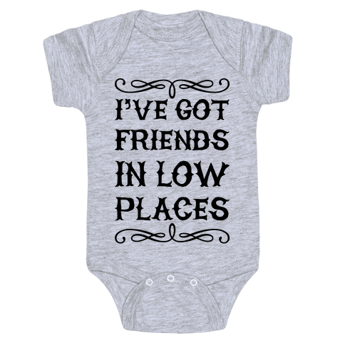 Low Places Baby Onesy