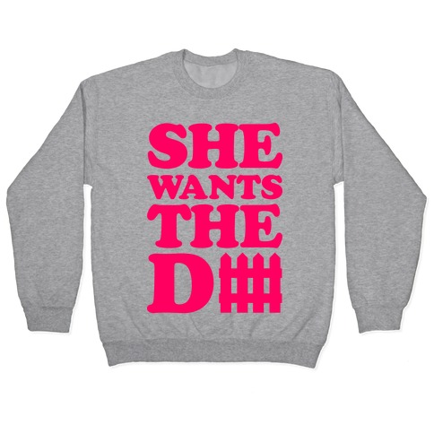 She Wants The Defense Pullover
