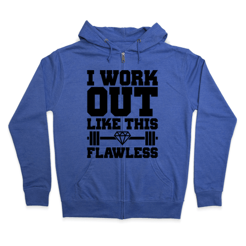 Flawless Workout Zip Hoodie