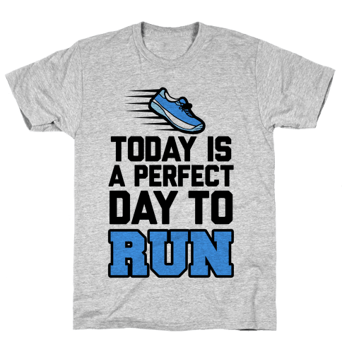 Today Is a Perfect Day to Run Mens T-Shirt